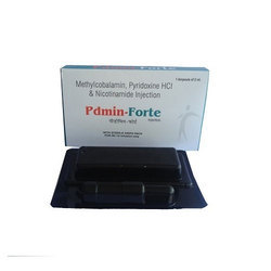 PDMIN FORTE Methylcobalamin 1000 mcg Pyridoxine HCI 100 mg, Packaging Type: Blister Dispo Pack