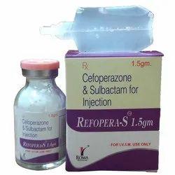 Cefoperazone Sodium 1000mg & Sulbactum 500mg