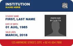 White PVC ID Cards Printing