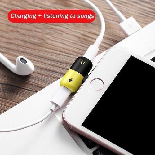 size 40 3fe19 088b6 Auslese Lightning Splitter Adapter Audio For Iphone