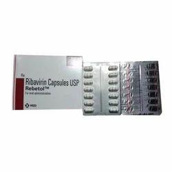 Rebetol Medicines Capsules, Packaging Type: Strip