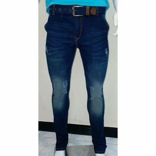 Faded Denim Jeans