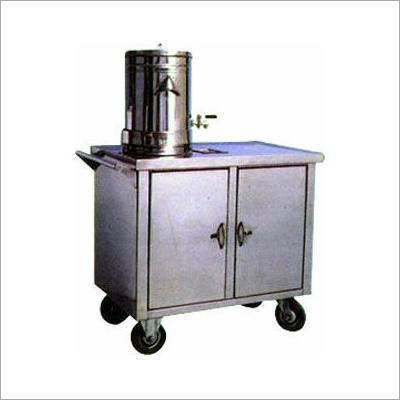 Ss KKE Tea Service Trolley, for Hotel