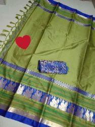 Pure Handloom Cotton Saree
