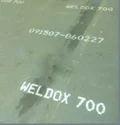 Weldox 700 E High Tensile Plates