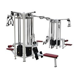 Mild Steel 8 Station Multi Gym Trainer
