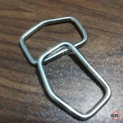 25mm Mild Steel D-Rings Nickel