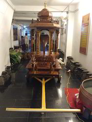 Temple Ratham 7 1/4 ft In Teakwood