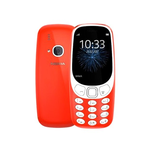 Red 3310 Phone Mobile Nokia