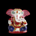 Hand-Carved Ganesha Statue
