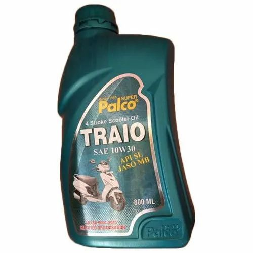Api Sl Jaso Mb 10W-30 Palco Traio 4 Stroke Scooter Oil, Packaging Size: 800 mL