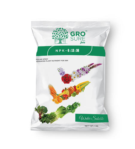 Grosure Forte Npk 6 12 36 Fertilizers Pack Type Packet Pack Size 1 Kg Id 7333209533