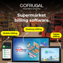 Gofrugal Software Pos Supermarket Billing Software, Rc145, For Retail Business