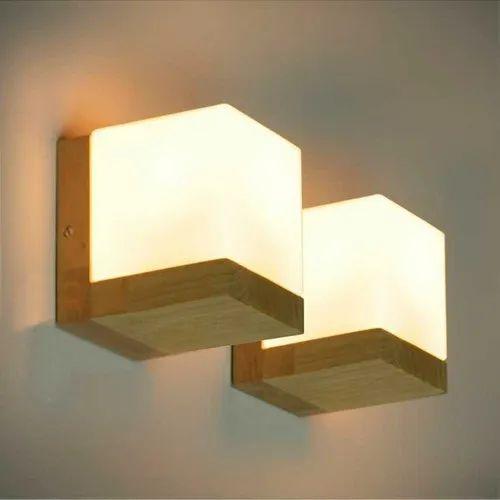 official photos 1415b 87d32 Decorative Cube Wall Light