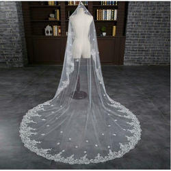 White Cathedral Bridal Veils