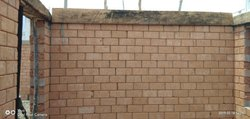Red Interlock Soil Bricks, Size: 12In.x5In.x6In