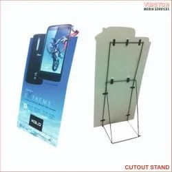 Promotional Cut Out Stand