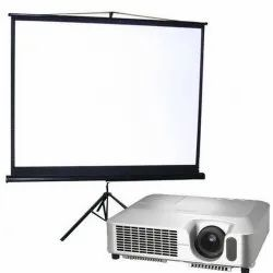 Projector On Rental And Hire, Business