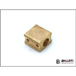 Brass Golden Square Fuse Contact