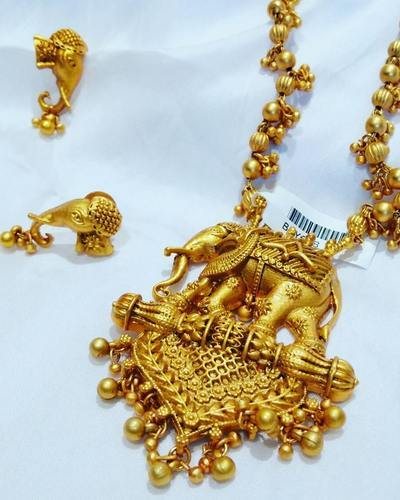 Jewellery Gold Studded With Stone and Jewellery Gold Plated
