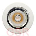 Aluminum Round Zoom Light, Power: 40 W