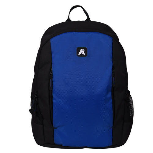 bd396bb9ce4e PVC Black And Blue PinStar Glide Laptop Backpack