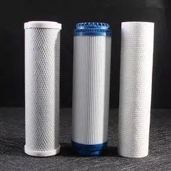 White Polypropylene Water Filter Cartridges, Size: 5 Inch