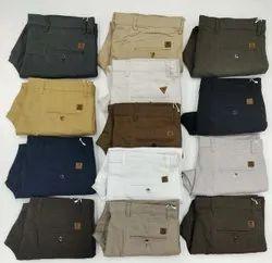 Plain Casual Wear Cotton Linen Pants, Size: 28 to 40