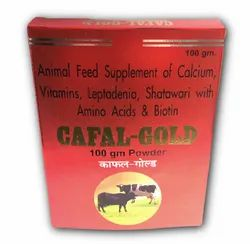 Cafal Gold Animal Feed Supplement, Packaging Type: Box, Packaging Size: 100 Gram