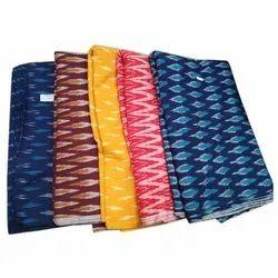 Printed Ikkat Fabric Material