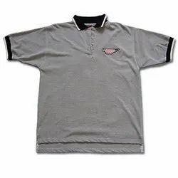 Cotton Polo Neck Pique Polo T-Shirt, Size: S