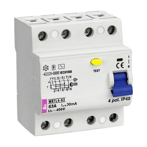 Earth leakage circuit breakers at rs 2500 unit kolathur chennai earth leakage circuit breakers ccuart Images