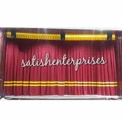 Auditorium Automatic Curtains