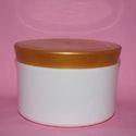 Round Plastic Cosmetic Jar