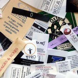 Printed Rectangular Garment Labels