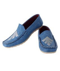 Feetzone Blue Loafers, Size: Uk 7 To 11