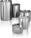 Silver Color Stainless Steel Containers, Capacity: 50 Kg