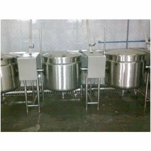 Multipurpose Double Jacketed Vessel