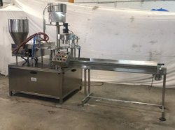 Spout Pouch Filling And Sealing Machine