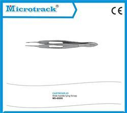 Castroviejo Wide Handle Tying Forcep Ophthalmic Instrument.