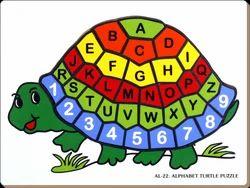 Alphabet Turtle Puzzle