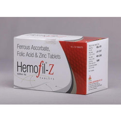 Ferrous Ascorbate Folic Acid And Zinc Sulphate Tablets S M