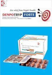 Diclofenac Pottasium 50mg   Paracetamol 325mg   Trypsin Chymotrypsin 50000 iu