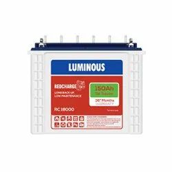 Luminous Tubular Batteries RC 18000