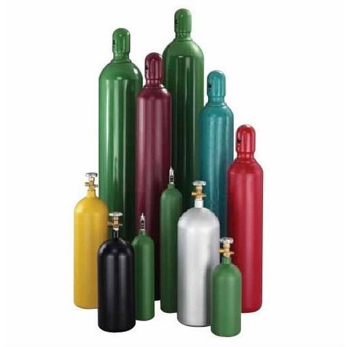 Industrial Gas Cylinder, इंडस्ट्रियल गैस सिलेंडर, औद्योगिक गैस सिलेंडर - Om  Speciality Gases, Ghaziabad | ID: 12561365397