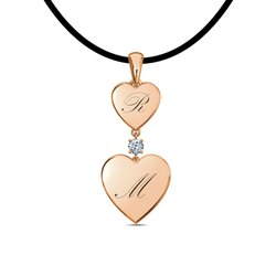 Love Valentane Diamond Pendant