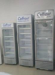 CELFROST White UP Right Show Case / Visi Cooler/ Dold Drink, Storage Capacity: 400L, Warranty: 1 Year