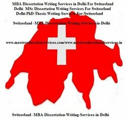 Switzerland Thesis Writing Services
