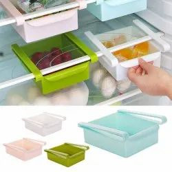 Eco-Friendly Multifunction Kitchen Refrigerator Storage Rack Fridge Freezer Shelf Holder Pull-out Dr