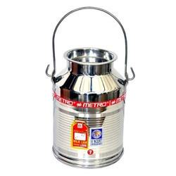 7L Stainless Steel Milk Can
